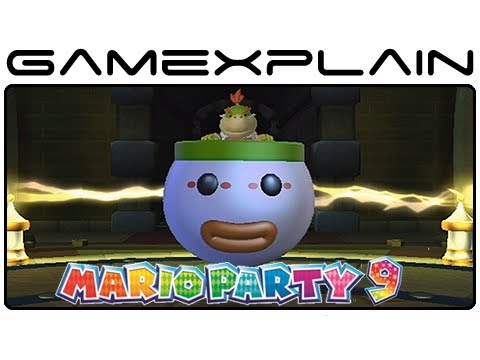 Mario Party 9 Every Bowser Jr Minigame Gameplay Footage Of All 10 Nintendo Wii