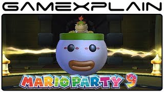 Mario Party 9 - Every Bowser Jr. Minigame (Gameplay Footage of All 10!) [Nintendo Wii]