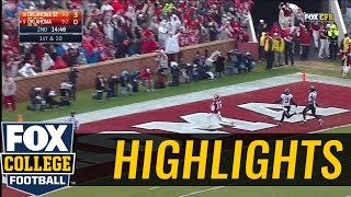 Baker Mayfield connects with Dede Westbrook for 69-yard TD | 2016 COLLEGE FOOTBALL HIGHLIGHTS