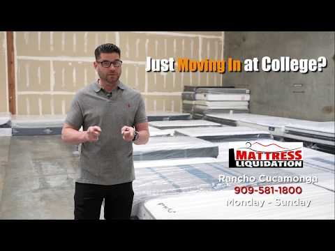 Affordable Mattresses for your College Dorm at Mattress Liquidation