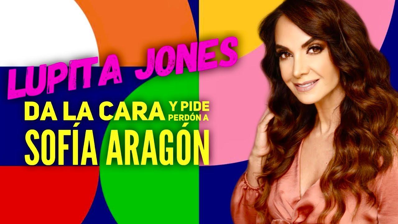 #LupitaJones da la cara y se disculpa con #SofíaAragón