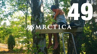 ASMR Treehouse Old Wooden Plank Tracing | Thanks Gibi for the Shoutout