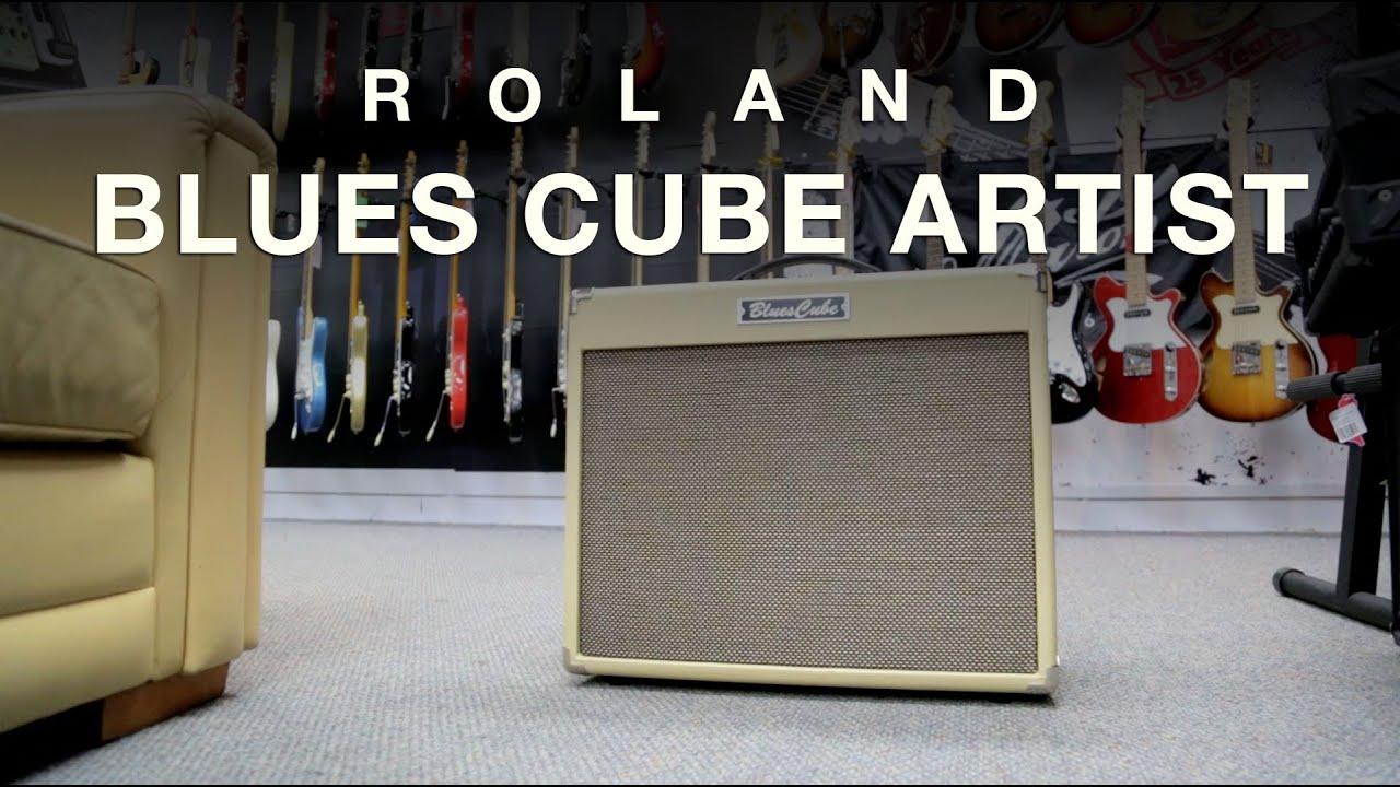 roland blues cube artist 80w combo youtube. Black Bedroom Furniture Sets. Home Design Ideas