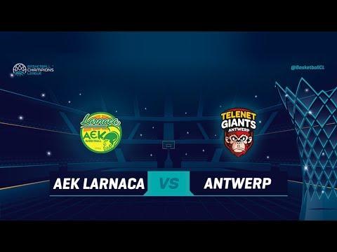 AEK Larnaca v Telenet Giants Antwerp - Full Game Qualif. Rd. 1 - Basketball Champions League 2018