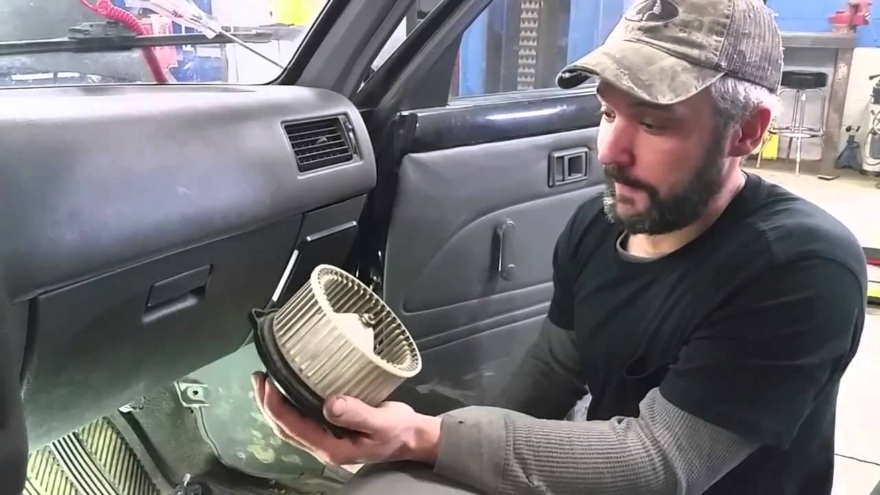 Blower Motor Amp Resistor Toyota Pick Up Youtube