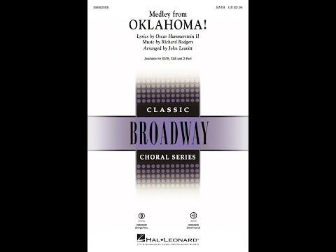 Oklahoma! (Medley) (SATB) - Arranged by John Leavitt