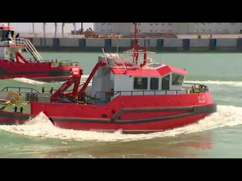 Port of Baku new tugboats welcoming ceremony