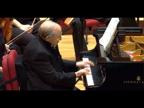 Menahem Pressler & Taipei Philharmonic Orchestra, Taipei, October/2017.科技禮讚 教育傳承 普雷斯勒與台北愛樂高畫質直播