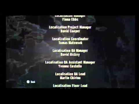 007 GoldenEye Credits Wii Theme Tune *FULL*