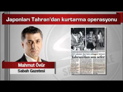 Mahmut Övür  Japonları Tahran'dan Kurtarma Operasyonu