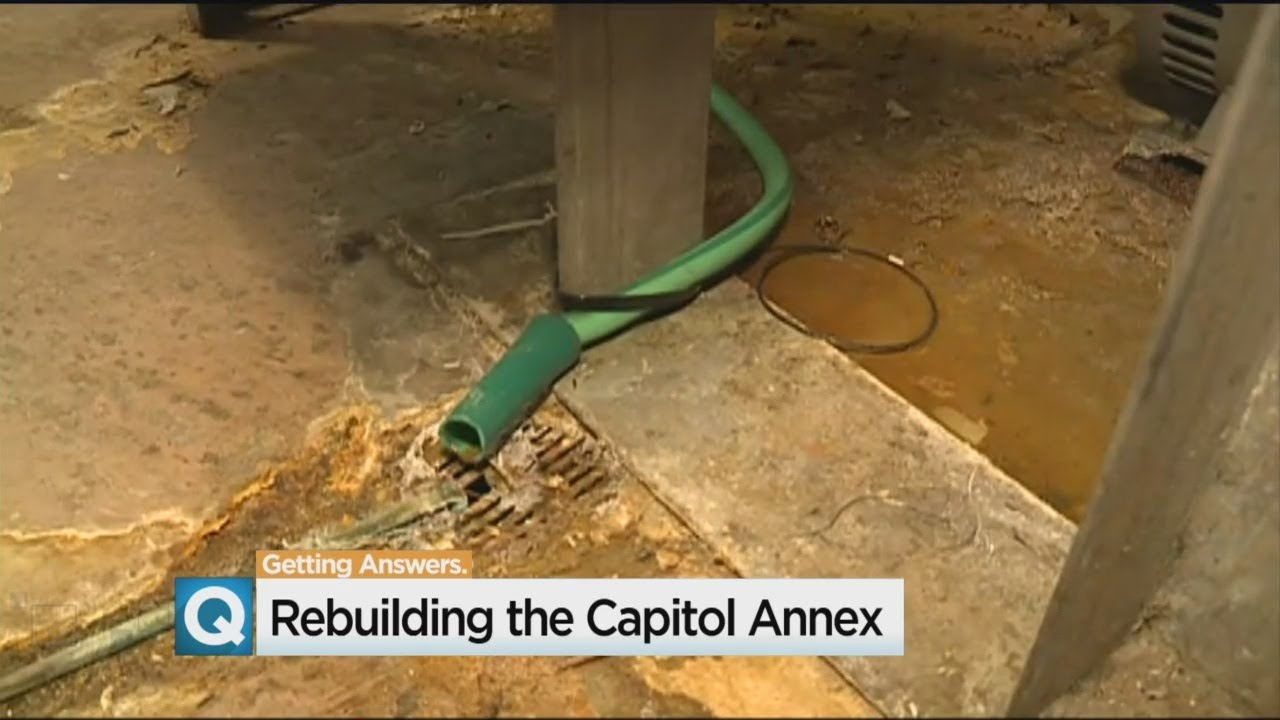 Assemblyman Calling For Fixes In California Capitol Annex