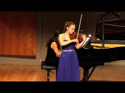 Josef Suk Love Song - Felicity James, violin