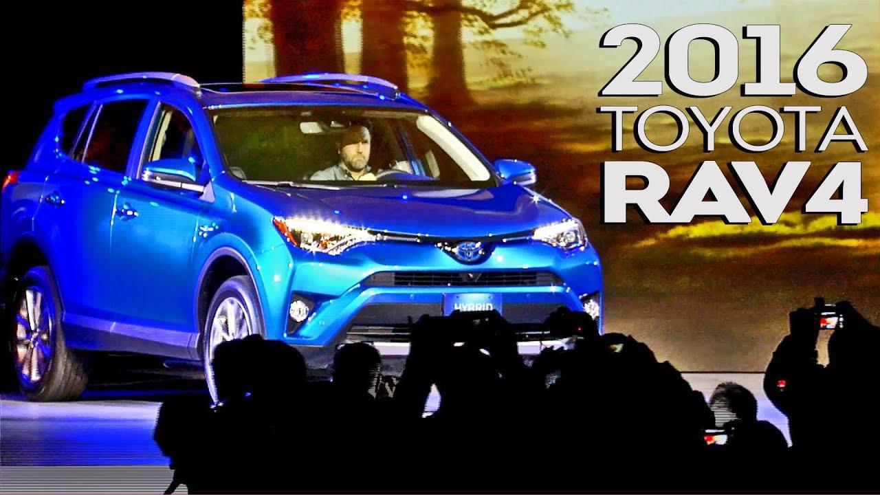 2016 Toyota Rav4 World Premiere Youtube