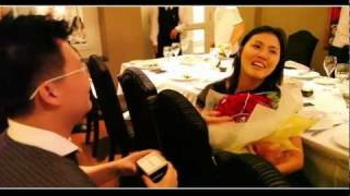 The Sweetest Proposal ever - Eugene & Zhen Shi Proposal 18 January 2012 (SG)