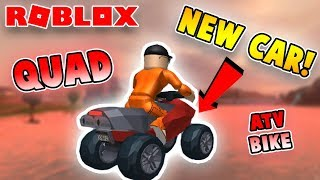 NEW CAR *QUAD BIKE ATV* IN JAILBREAK! (Roblox Jailbreak)