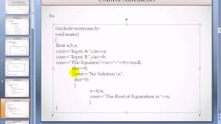 Programming Tutorial: C++ Control Statement 3.2 Mp3