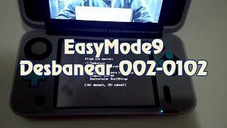 Arreglar 3DS con error 002-0102 con Easymode9 de Hirobyte | 2018
