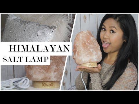 Himalayan Salt Lamp Benefits and Unboxing | Home Decor Haul