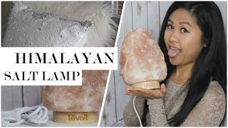 Himalayan Salt Lamp Benefits and Unboxing | Home Decor Haul