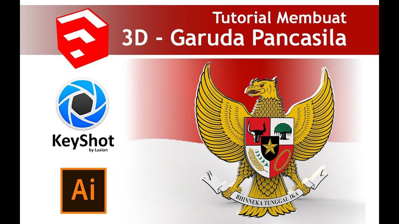 garuda pancasila 3d sketchup tutorial youtube garuda pancasila 3d sketchup tutorial