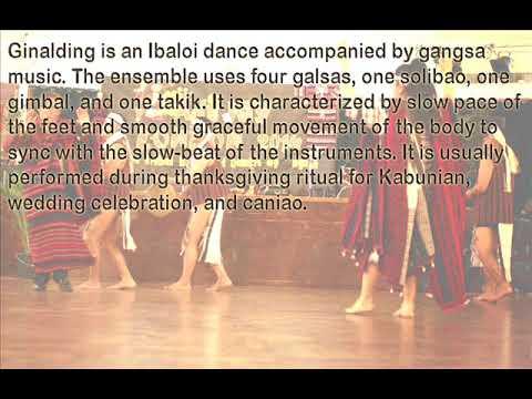 Ginalding by the Ibaloi folks (Gangsa Musical Application) - Cordillera Music Instrument