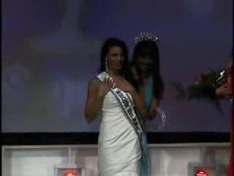 Crowning of Miss Rhode Island USA 2009