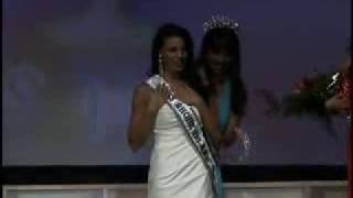 Crowning of Miss Rhode Island USA 2009