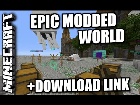 Minecraft PS3 - EPIC MODDED MAP - REVIEW + DOWNLOAD LINK ( PS4 / XBOX )