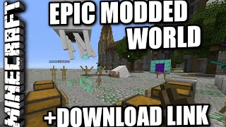 MINECRAFT - PS3 - BEST MAP EVER - REVIEW + DOWNLOAD LINK ( PS4 ...