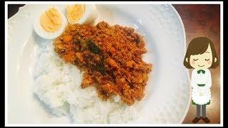 レンジドライカレー てぬキッチン/Tenu Kitchenさんのレシピ書き起こし