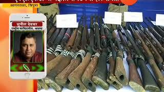 Tripura | NLFT Naxal Group 88 Moists Self Surrender