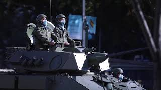 ¡Javier Ortega acude al desfile militar de la Fiesta Nacional!