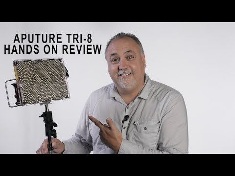 Aputure TRI 8 Hands On Review
