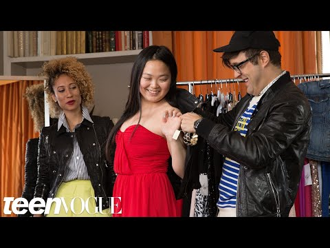 Picking a Simple Dress with a Major Wow Factor – My Prom Makeover – Teen Vogue
