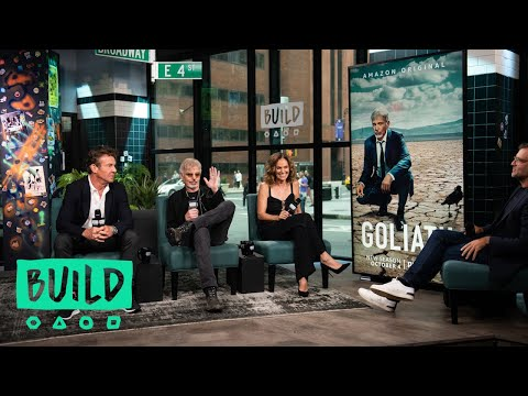 """Billy Bob Thornton, Dennis Quaid & Amy Brenneman On The Third Season Of """"Goliath"""""""