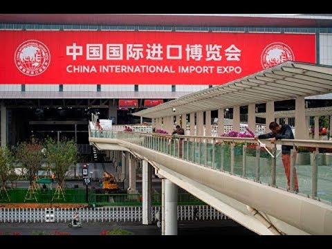 《今日点击》美媒:习近平主导中国首届进博会或令人失望—没有相信中共的承诺
