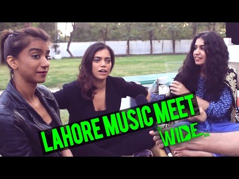 Lahore Music Meet - Sara Haider Spotted - The Wide Side