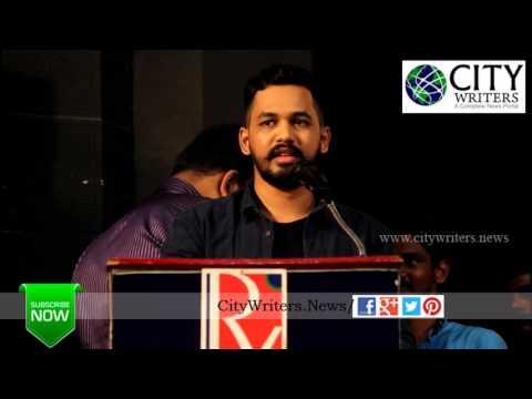 Hiphop Tamizha Adhi speech at Tamilan Endru Sol Movie Pooja