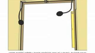 Montáž regulované zárubně Porta Systém