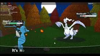 490. Wild Reshiram on Route 3! Pokemon Revive Project on Roblox Pt. 3