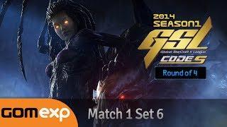 Code S Ro4 Match 1 Set 6, 2014 GSL Season 1 - Starcraft 2