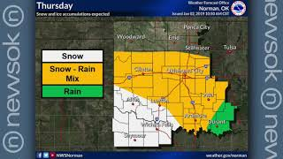 Oklahoma Weather Forecast: Jan. 2, 2019