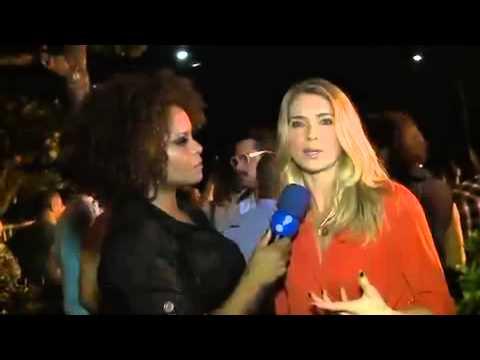 Letícia Spiller Desabafa Sobre Assalto Em Sua Residência - TV Fama 01/04/2014