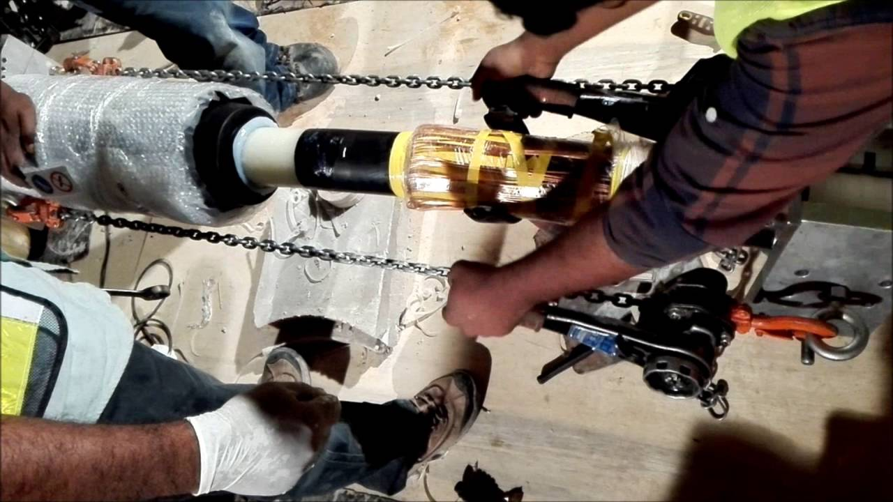 Cable Jointing Procedure : Kv damaged cable repair procedures straight joint