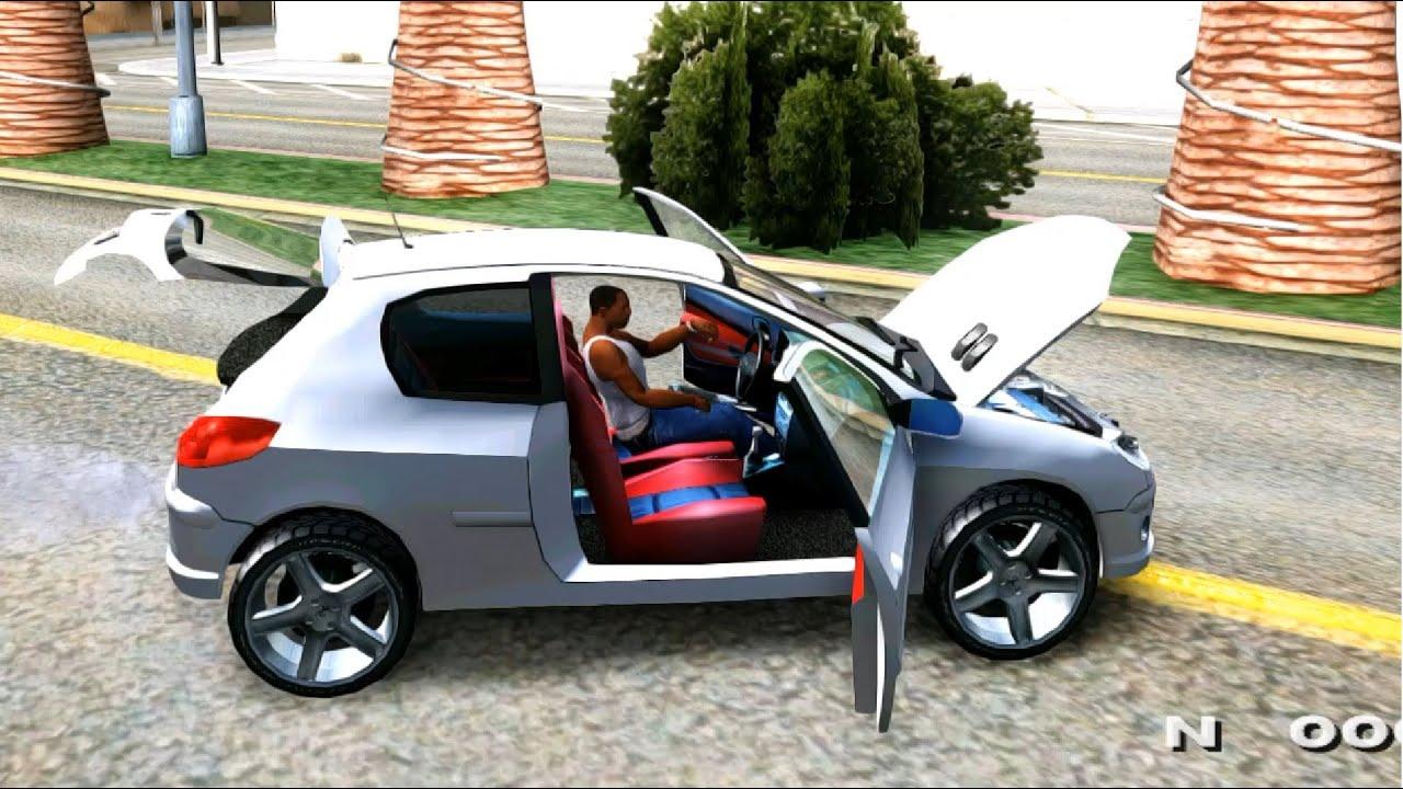 GTA San Andreas - Peugeot 206 EnRoMovies