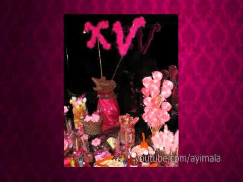 Mesa de dulces vip candy bar para xv a os d tallitos for Mesa de dulces para 15
