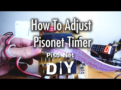 Pisonet: How to Adjust Pisonet Timer [Tagalog]