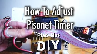 Repeat youtube video Pisonet DIY: How to Adjust Pisonet Timer Howto/Tutorial [Tagalog]
