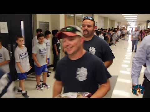 NCISD | First Responders Donation | Keefer Crossing Middle School