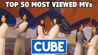[TOP 50] Most Viewed CUBE Music Videos (February 2021)
